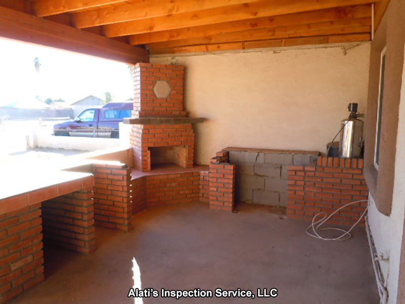 Fire Place Patio